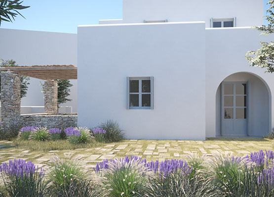 In Naxos Chora and in other areas are available for sale apartments in logical prices, an ideal choice to use it as a holiday house